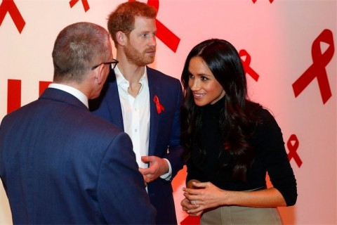 Harry e Meghan hiv aids