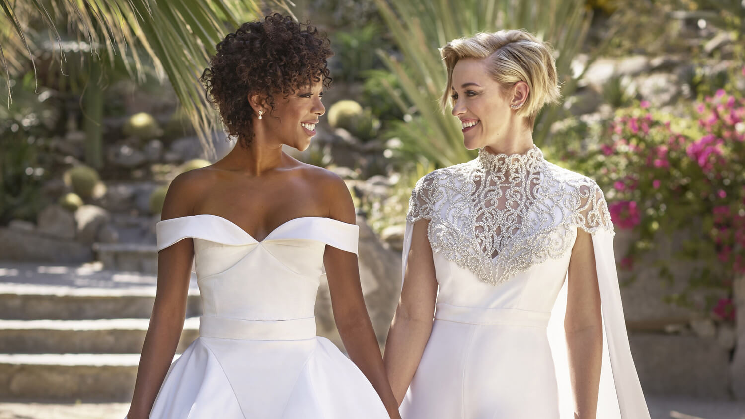 Samira Wiley e Lauren Morelli
