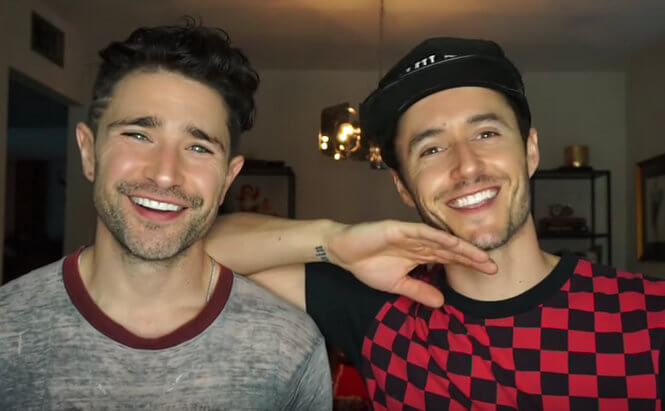 Matt Dallas e Blue Hamilton