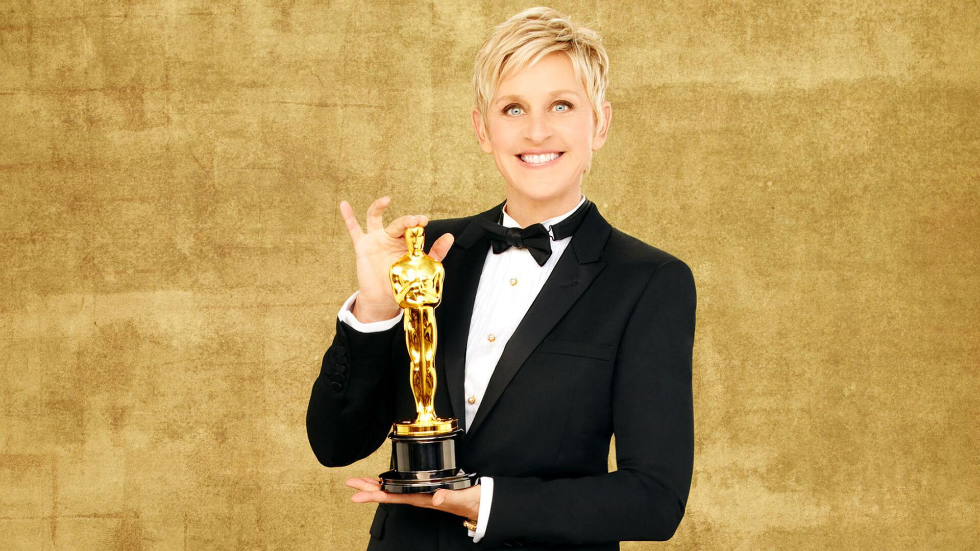 Ellen e la cerimonia degli Oscar
