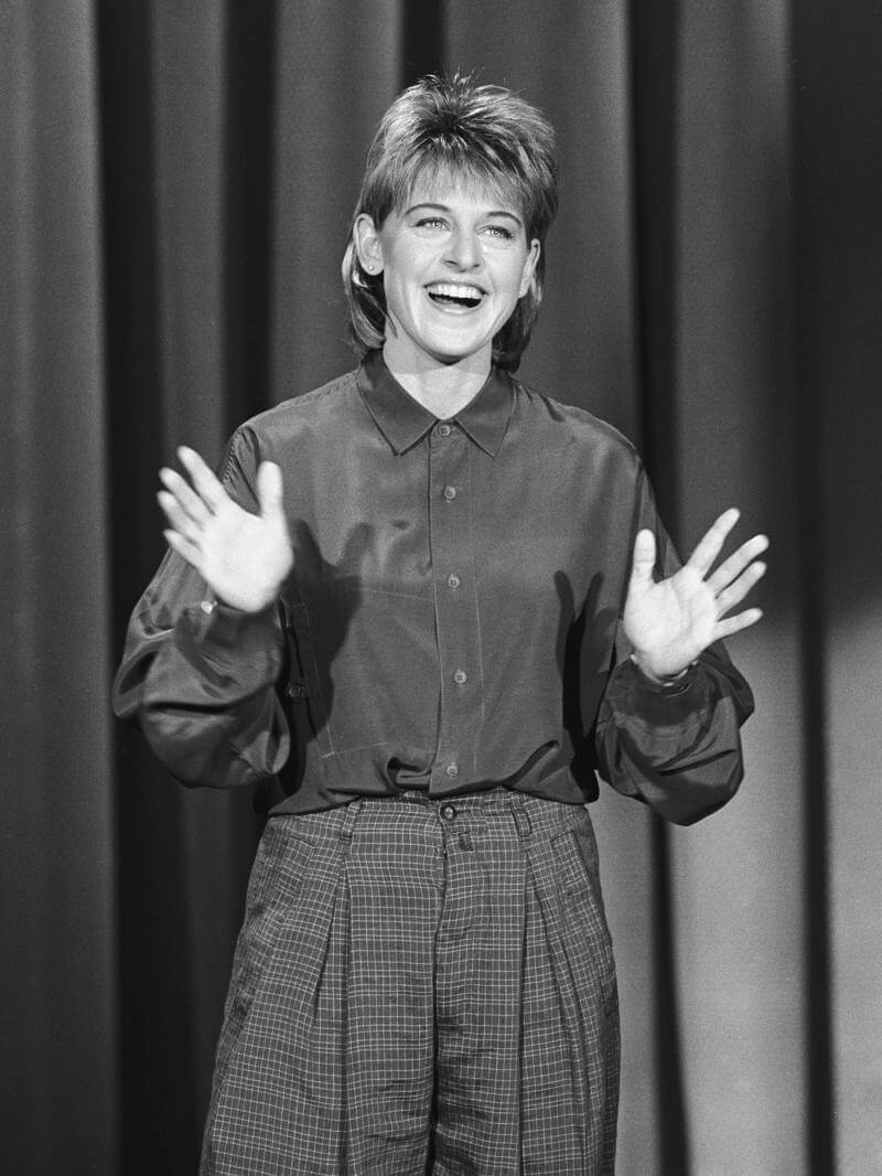 Ellen nel 1986