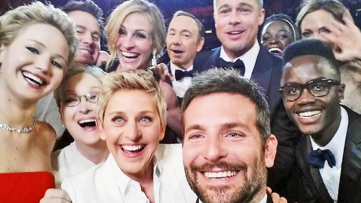 Mega Selfie agli Academy Awards