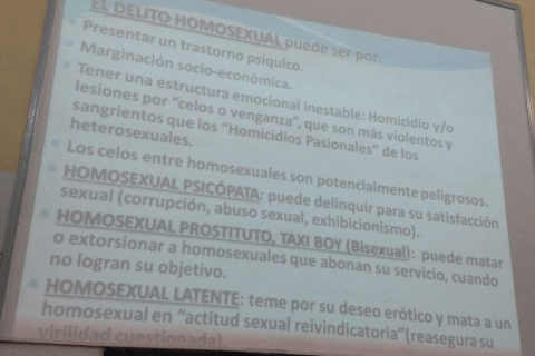 delitto gay