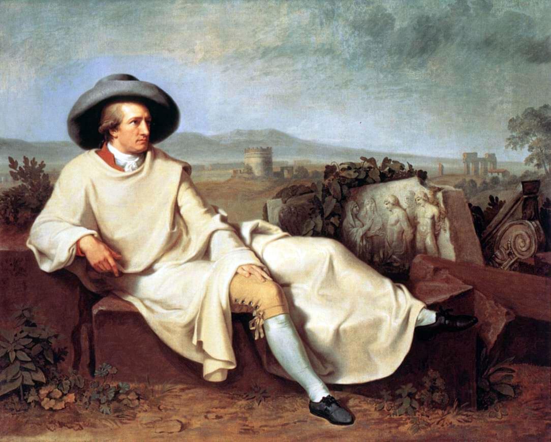Goethe durante il suo Grand Tour