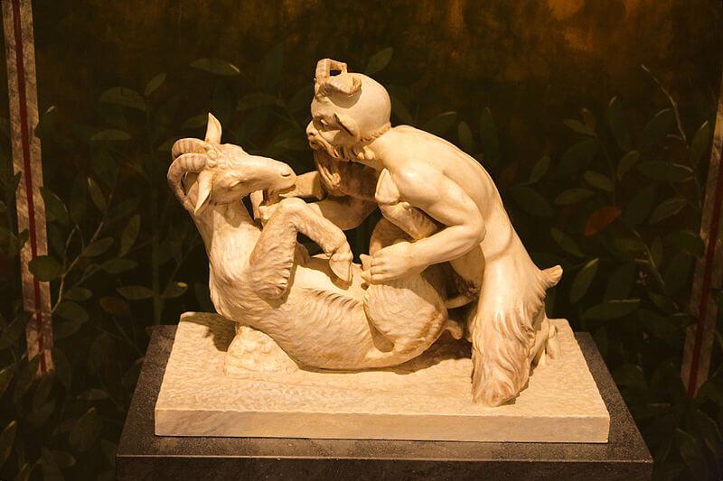 Pompei: Pan e la capra