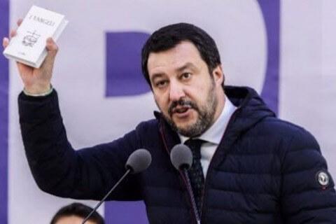 Matteo Salvini Lega Torino