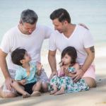 famiglia arcobaleno papà gay