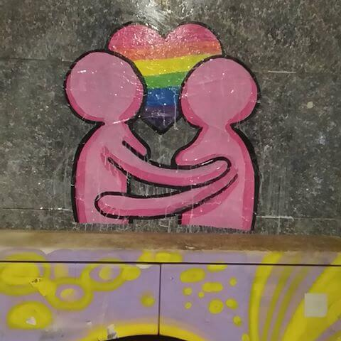 Street gay art Milano