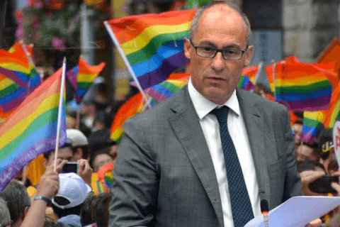 trento dolomiti pride ugo rossi bandiere arcobaleno gay rainbow