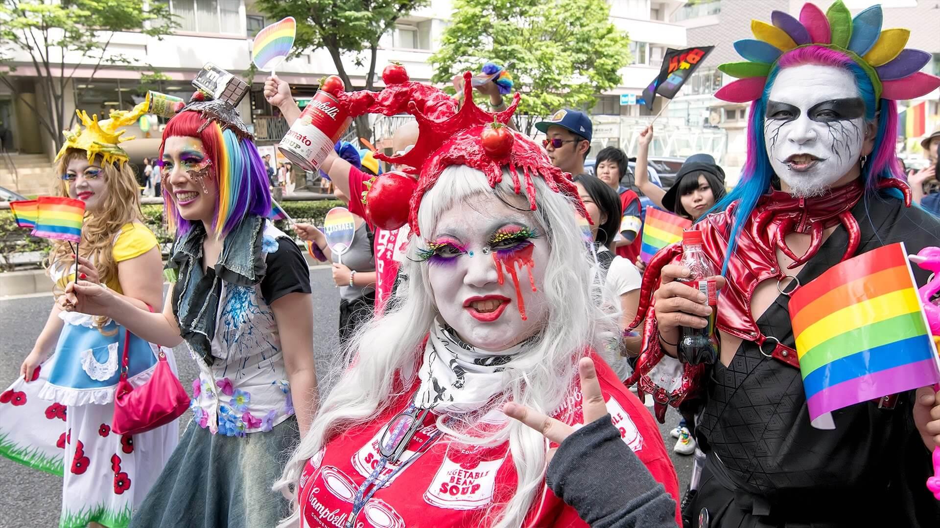 Tokyo mete gay friendly