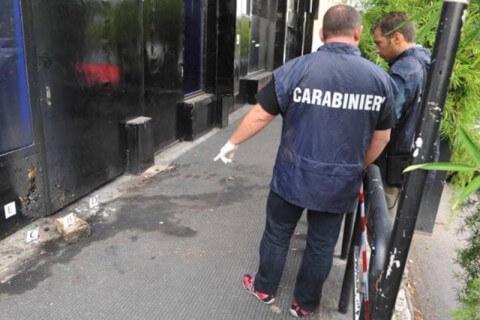 Qube Roma Molotov Carabinieri Muccassassina