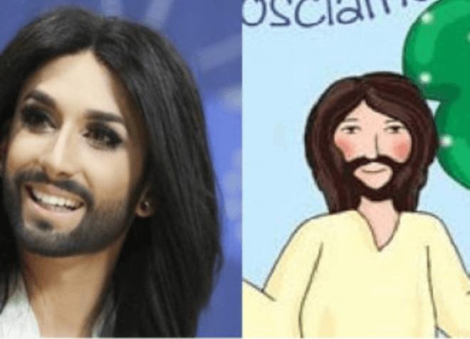 conchita wurst gesù catechismo