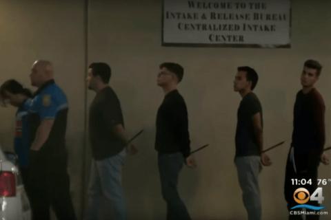 Miami aggressori coppia gay arresto polizia