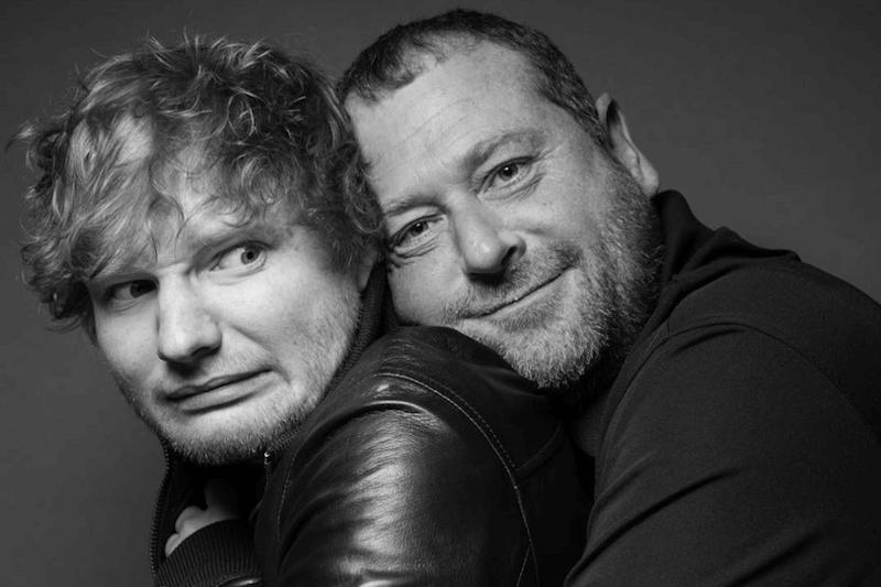 """La tenerezza del bodyguard di Ed Sheeran, che lo prende in giro chiamandolo """"Il mio ragazzo"""""""