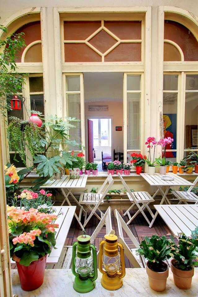 Giardino dell'hotel Miramare