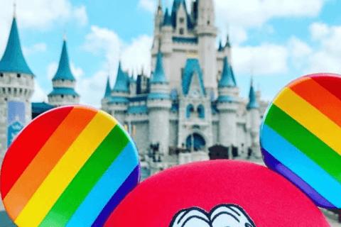 disney orecchie rainbow topolino