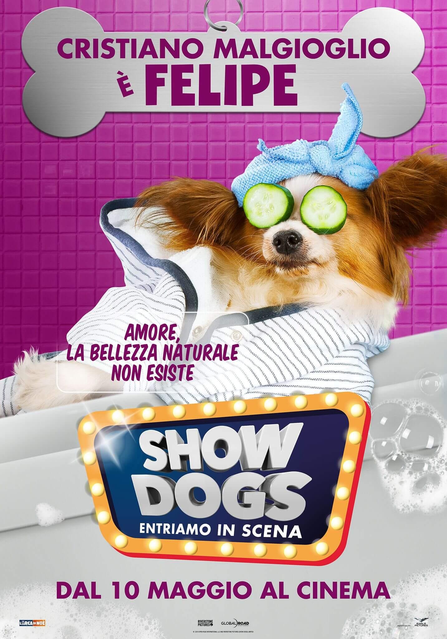 Cristiano Malgioglio show dogs