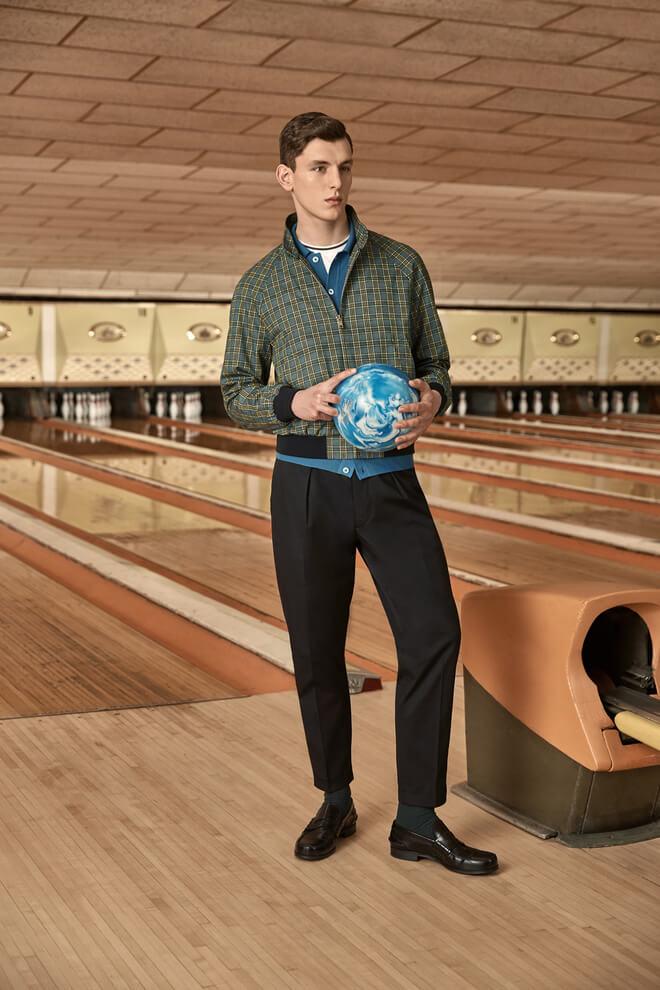 prada mr porter bowling moda uomo