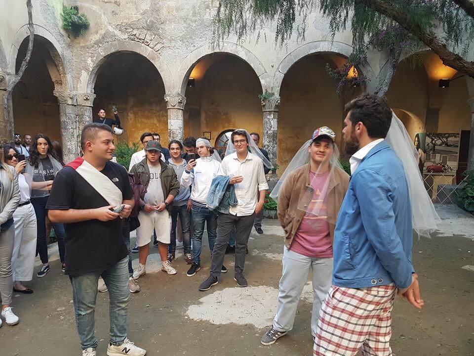 Sorrento arcigay napoli unione civile chiostro francescano