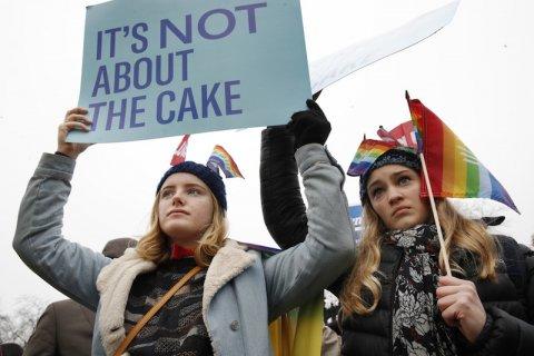 torta corte suprema stati uniti pasticcere matrimonio gay