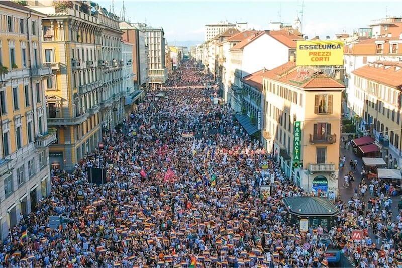 Milano Pride 2018, un trionfo d'amore