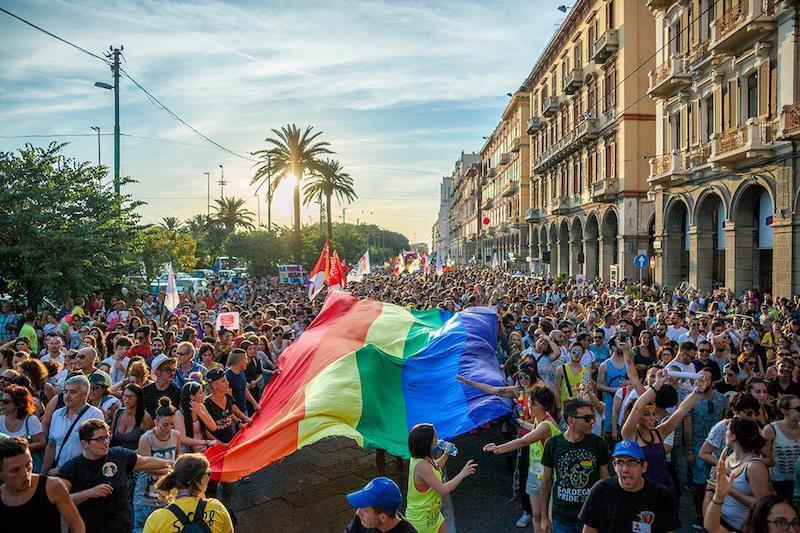 Cagliari Pride 2018: le foto della parata