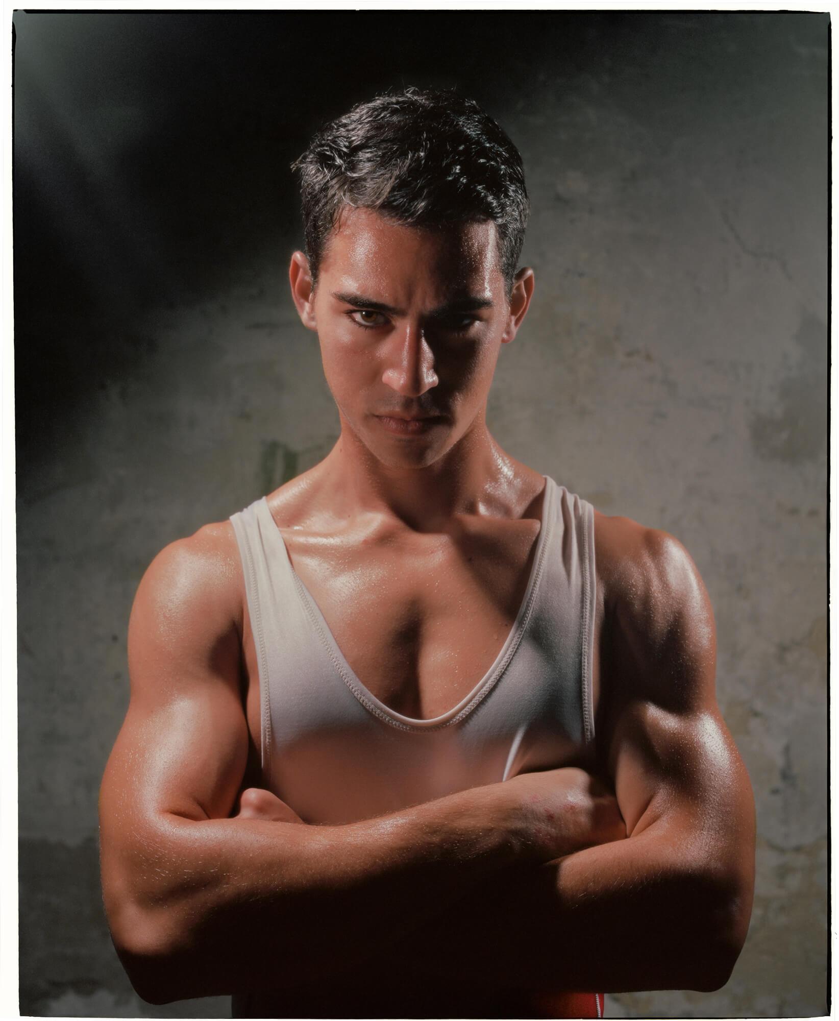 Le foto dei wrestler di Ben McNutt