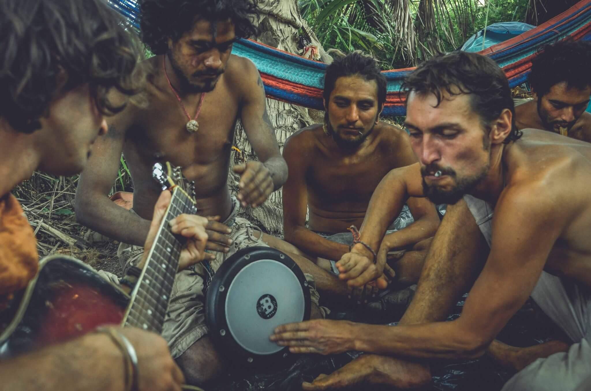 I ritratti di Denis Vejas alla Rainbow Gathering