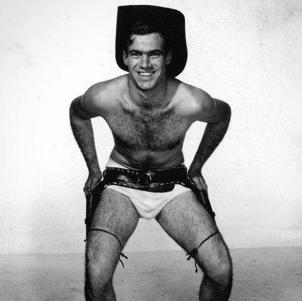 Cow Boy gay vintage