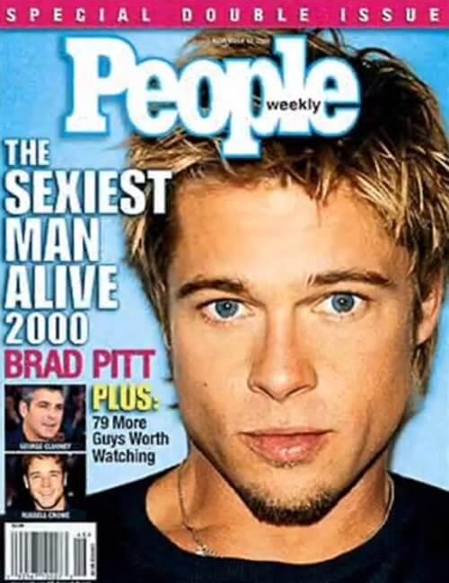 Sexiest Man Alive - Brad Pitt