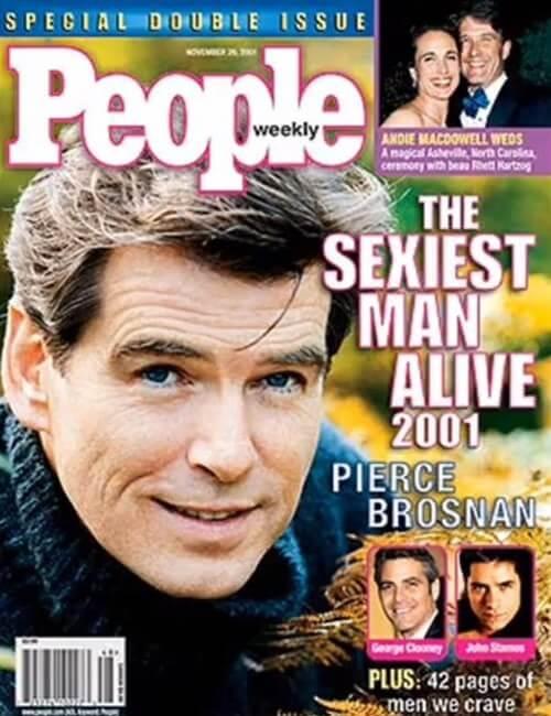 Sexiest Man Alive - Pierce Brosnan