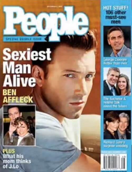 Sexiest Man Alive -  Ben Affleck