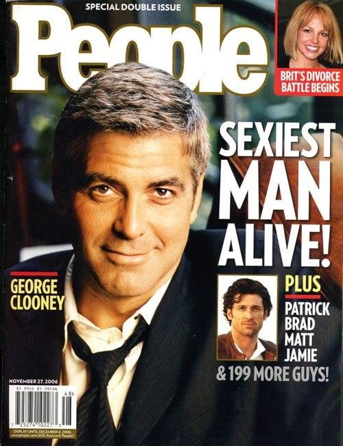 Sexiest Man Alive  - George Clooney