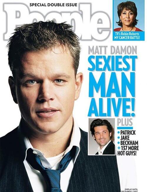 Sexiest Man Alive - Matt Damon