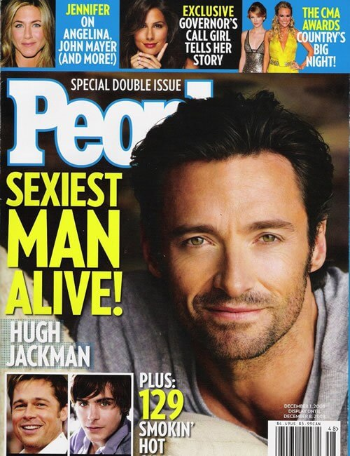 Sexiest Man Alive  - Hugh Jackman