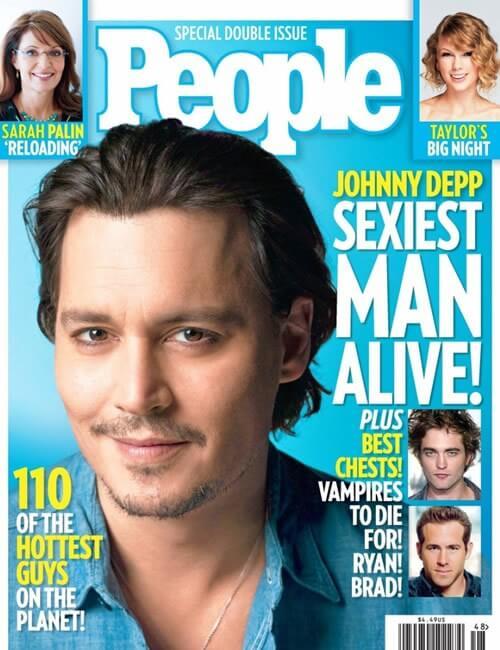 Sexiest Man Alive  - Johnny Depp
