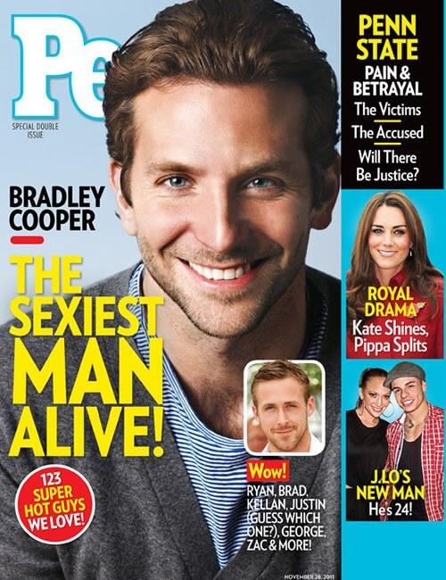Sexiest Man Alive  - Bradley Cooper
