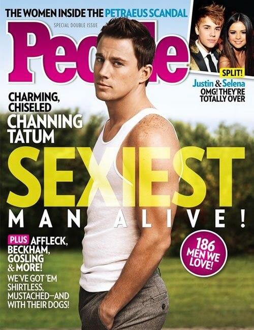Sexiest Man Alive  - Channing Tatum