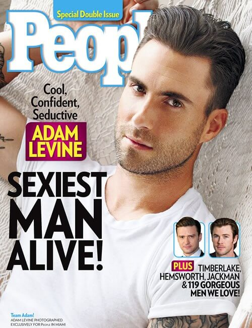 Sexiest Man Alive  - Adam Levine