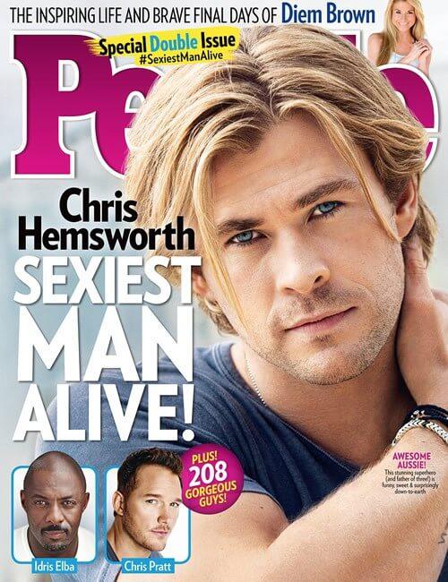 Sexiest Man Alive - Chris Hemsworth