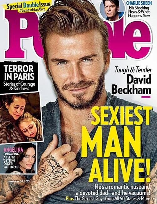 Sexiest Man Alive - David Beckham