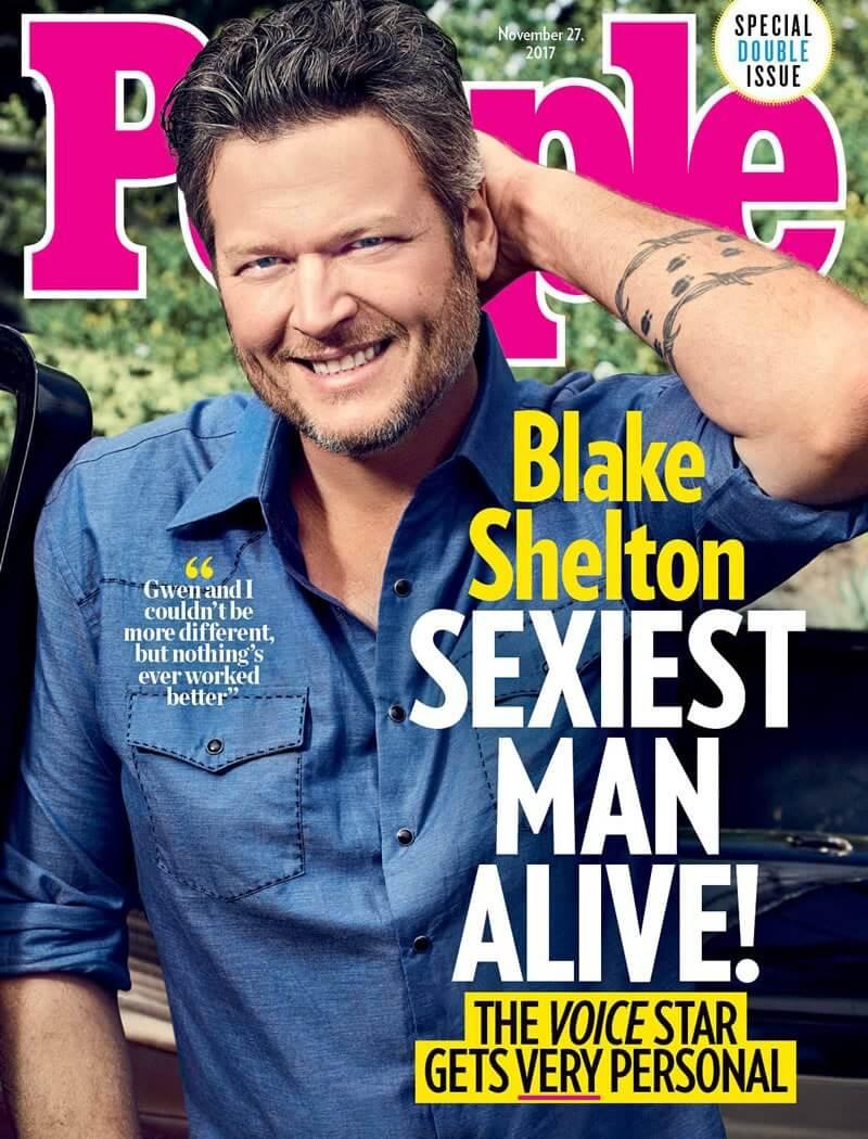 Sexiest Man Alive - Blake Shelton