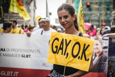 commissione europea gay pride