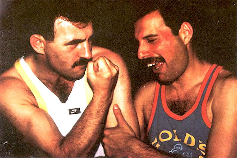 La relazione tra Freddie Mercury e Jim Hutton