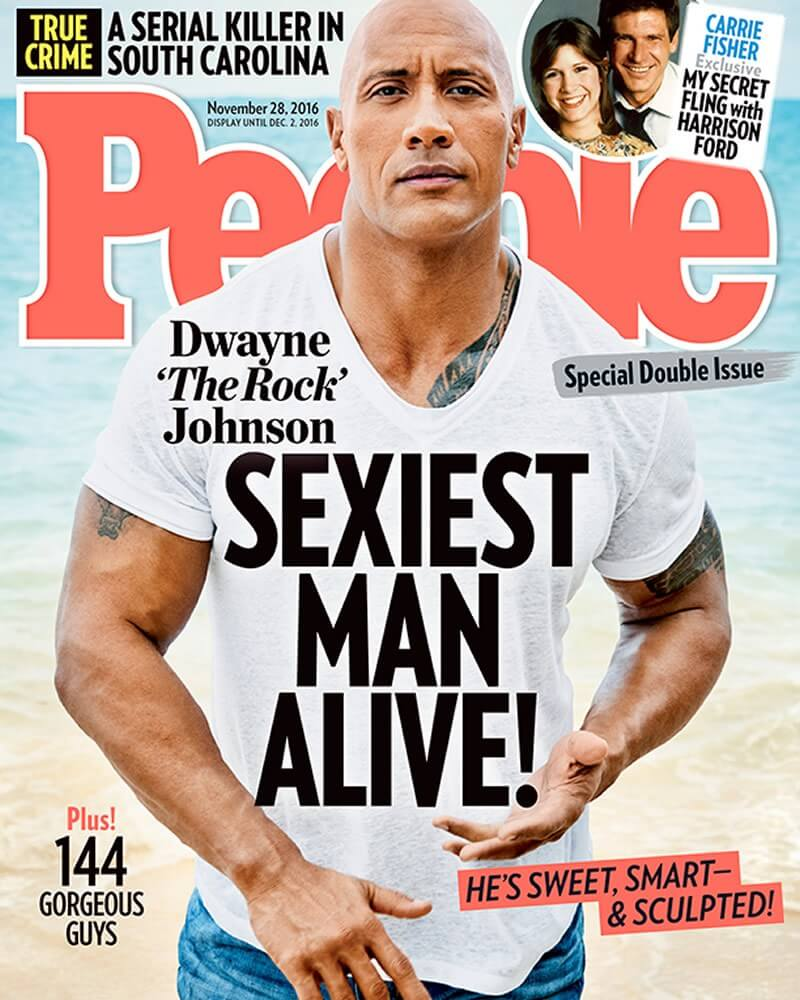 Sexiest Man Alive - The Rock