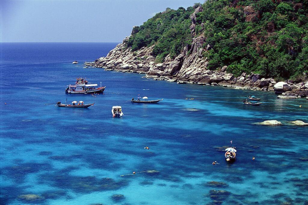 L'isola di Koh Tao, perfetta per lo snorkeling