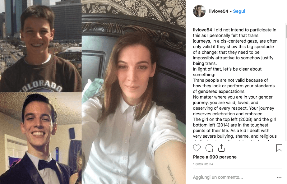 La transizione delle persone trans con #10yearschallenge