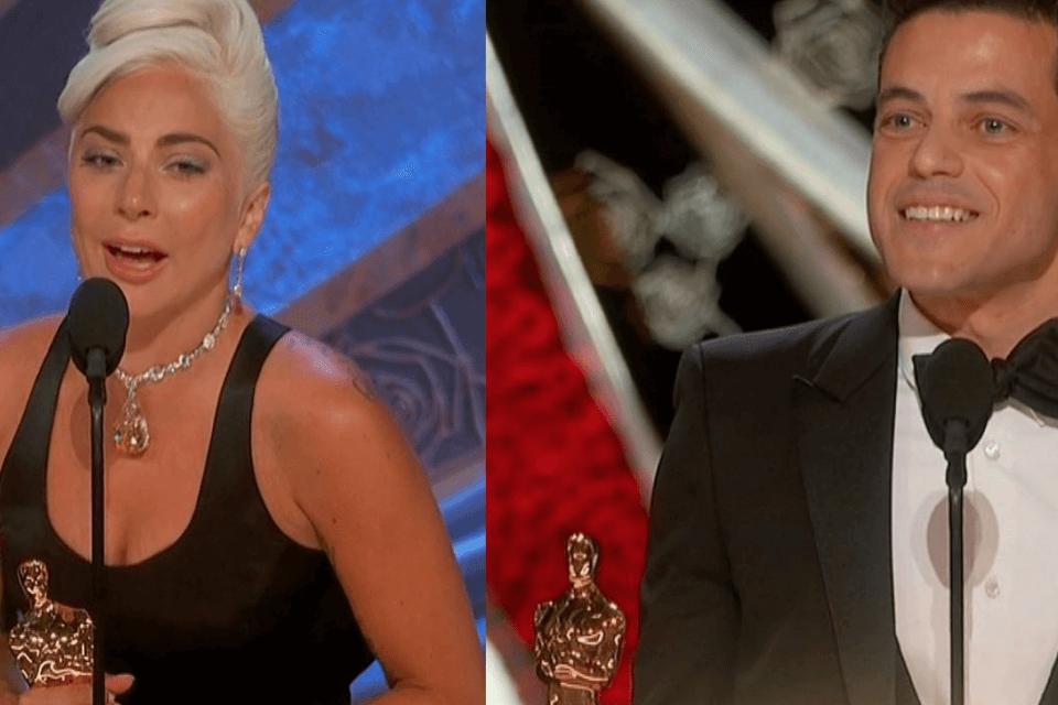 Lady Gaga e Madonna: la foto iconica agli Oscar
